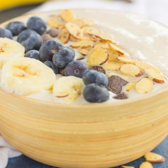 Banana Nut Smoothie Bowl