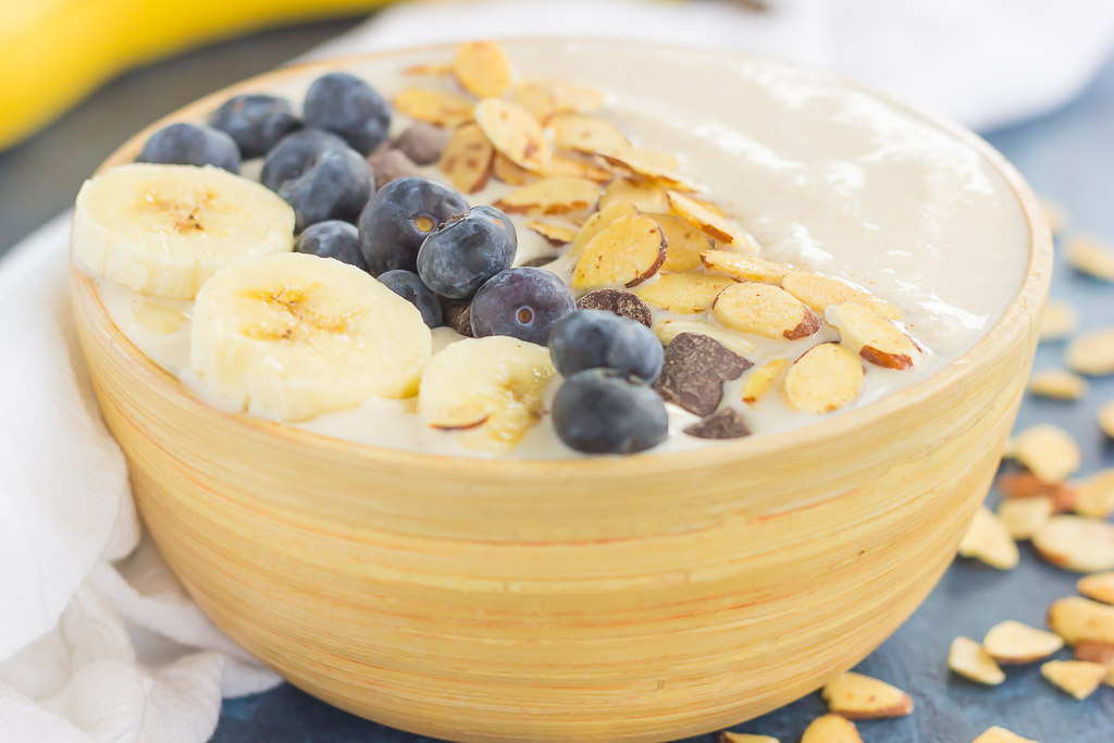 Banana Smoothie Bowl Recipe Easy Healthy Pumpkin N Spice