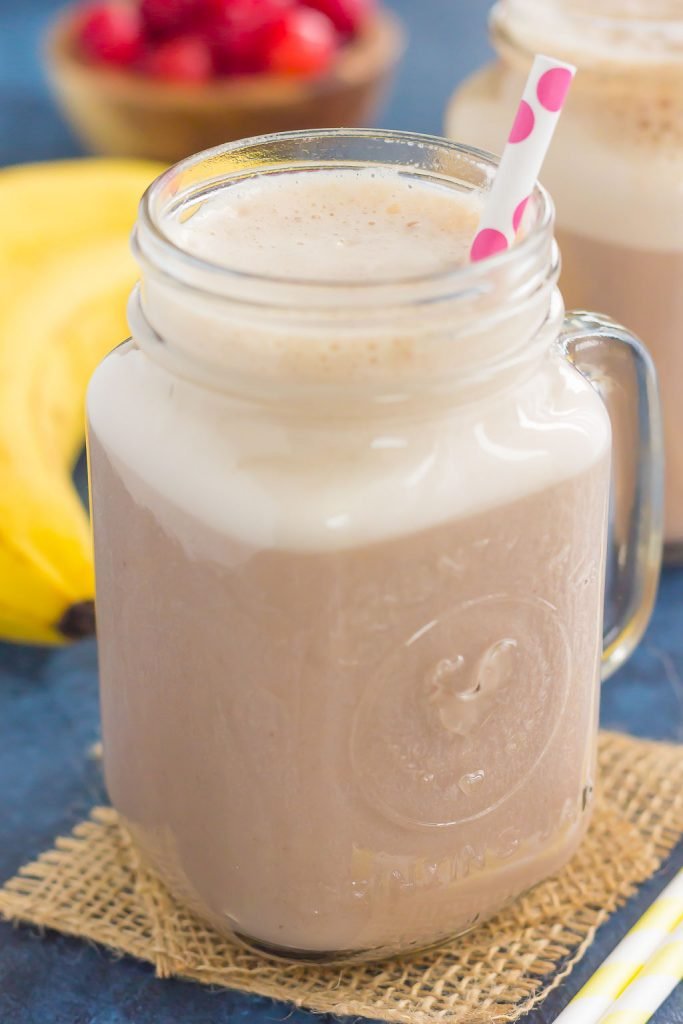 Cherry Banana Pudding Smoothie - Pumpkin 'N Spice