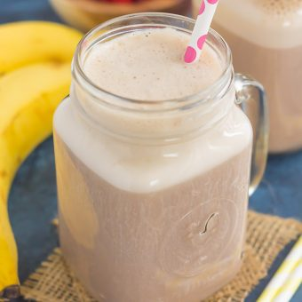 Cherry Banana Pudding Smoothie