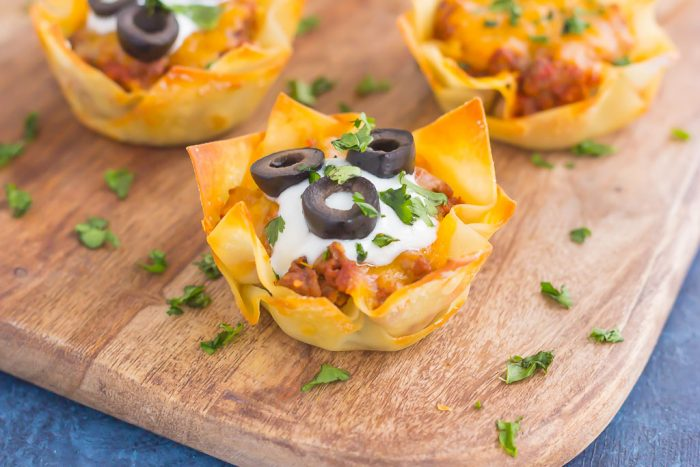 Cheesy Taco Cups