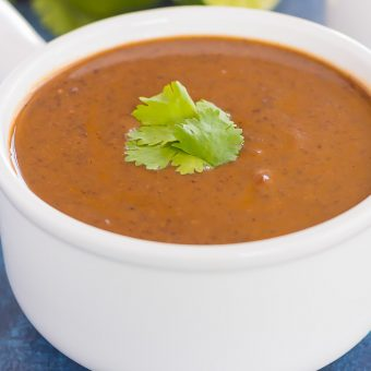 30 Minute Thursday: Easy Black Bean Soup