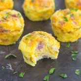 Cheesy Egg and Hash Brown Cups