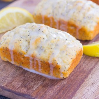 Mini Lemon Poppy Seed Loaves