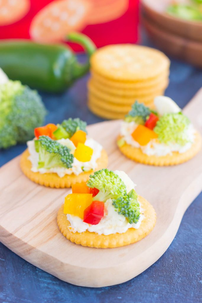 These sweet and savory snack crackers are perfect for entertaining those hungry house guests, or just as a little treat for yourself. Easy to make and even better to eat, you'll love the fresh and simple flavors of this simple snack!