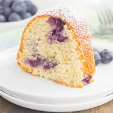 Blueberry Yogurt Cake {Plus a Video!}