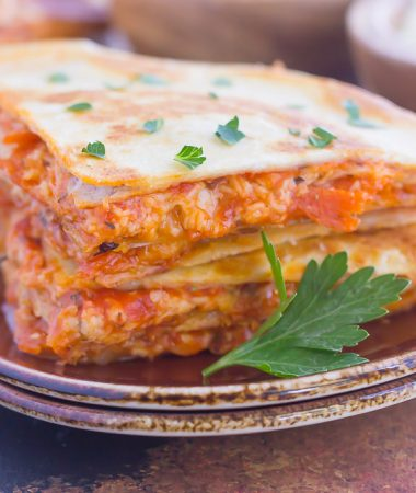 Perfect for a Friday night or anytime that want a quick meal, these Easy Pizza Quesadillas are sure to become a regular on your meal rotation!
