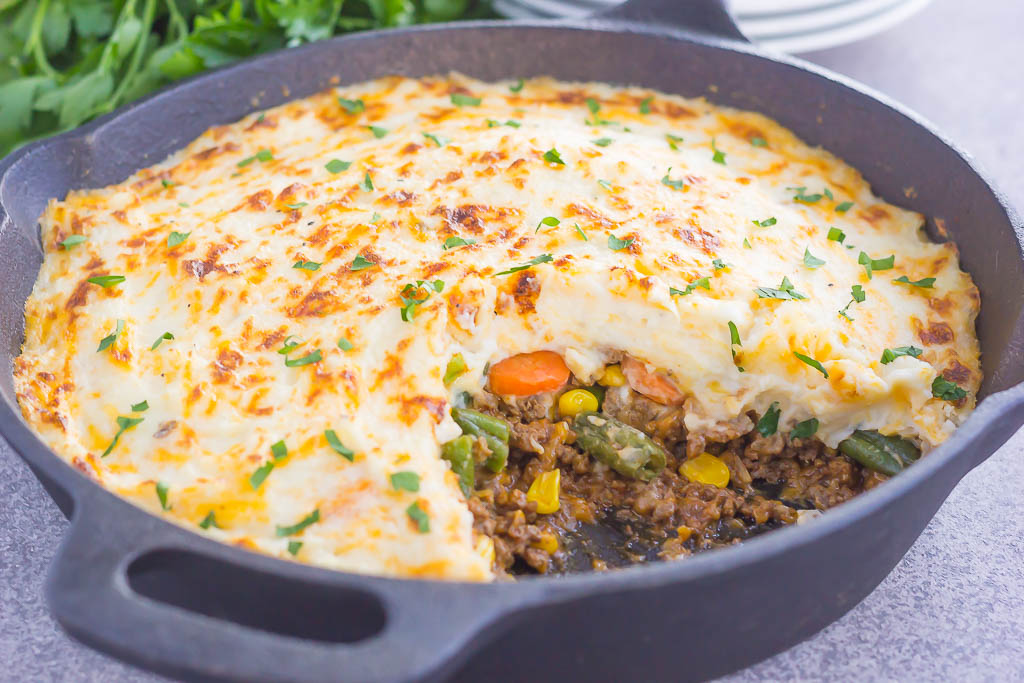 Easy Shepherd's Pie - Pumpkin 'N Spice