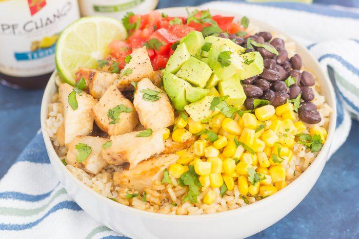 Easy Chicken Burrito Bowl