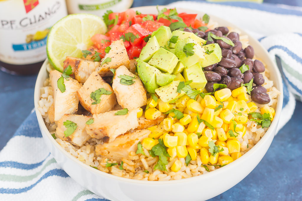 Easy Chicken Burrito Bowl