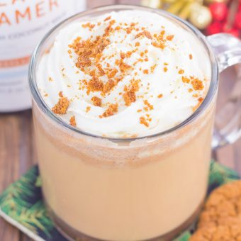 Spiced Gingerbread Latte
