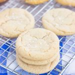 chai cookies on a wire cooling wrack