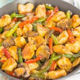 Honey Garlic Chicken Stir-Fry