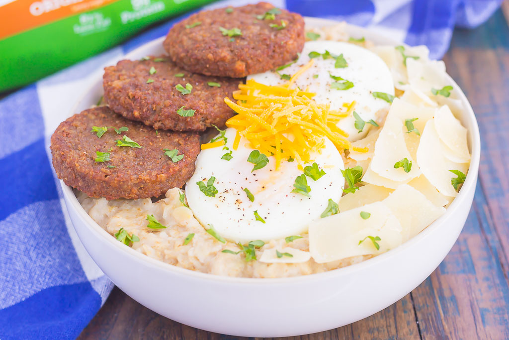 3 Great Savory Oatmeal Ideas