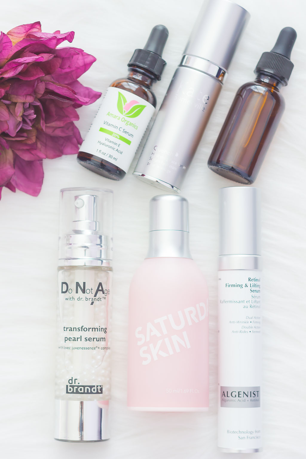 Serums can work wonders for targeting specific skin concerns, like dry patches, wrinkles, and loss of firmness. With a high concentration of ingredients, it's said to pack a punch and is a must-have before applying your moisturizer!