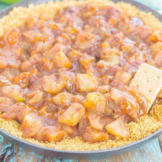 Easy Caramel Apple Pie Dip
