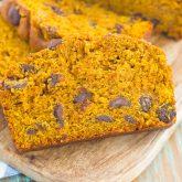 Pumpkin Peanut Butter Spice Bread