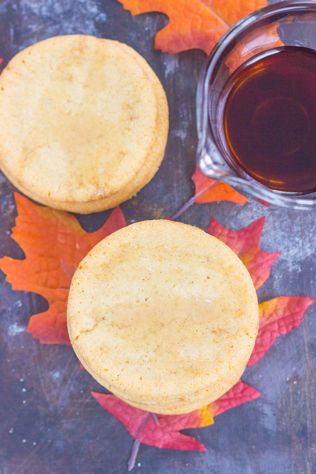 These Soft Maple Sugar Cookies make a delicious fall treat. Packed with a buttery taste and a hint of pure maple syrup, these soft and chewy cookies will quickly become a new favorite!