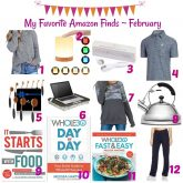 My Favorite Amazon Finds ~ February