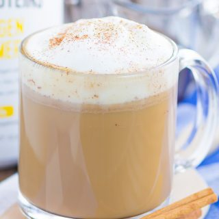 This Cinnamon Vanilla Latte is filled with cozy flavors and ready in less than ten minutes. Packed with sweet notes of cinnamon and vanilla, you can skip the coffee shop and make your own latte at home for the fraction of the price and calories!