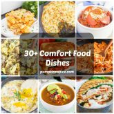 30+ Comfort Food Dishes