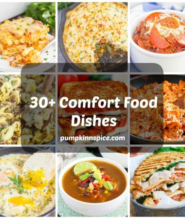 This recipe collection features over 30 comfort food dishes that'll keep you warm during the winter. Whether you're craving soups, chili, casseroles, or sandwiches, this collection has a little something for everyone. You may just find your new favorite comfort dish!