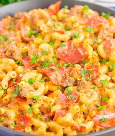 Pepperoni Pizza Hamburger Helper
