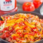 Loaded Cheeseburger Fries taste just like your favorite burger, but in appetizer form. These fries are topped with the classic ingredients of a cheeseburger and are baked to perfection. Easy to make and even better to eat, you'll love the crispy, crunchy, cheesy taste of this fun snack!