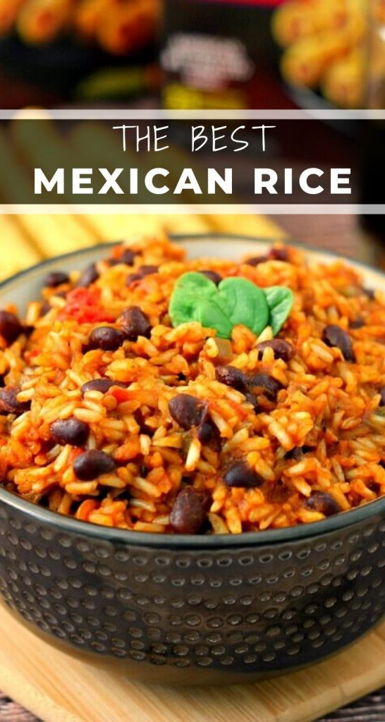 This Mexican Rice is simple to prepare and full of zesty flavors. Filled with fresh salsa, black beans, and spices, this rice is makes an easy side dish for just about any meal! #rice #mexicanrice #mexicanricerecipe #ricerecipe #easyrice #sidedish #easysidedish