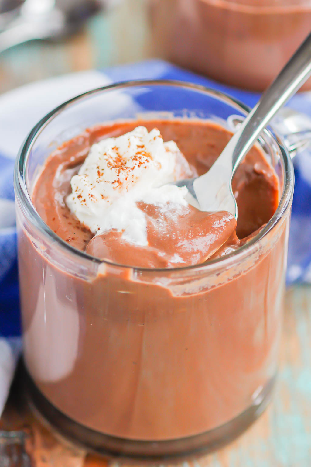 Easy Chocolate Pudding is made completely from scratch and loaded with flavor. Thick, creamy, and extra chocolatey, this classic dish will be a favorite for years to come!