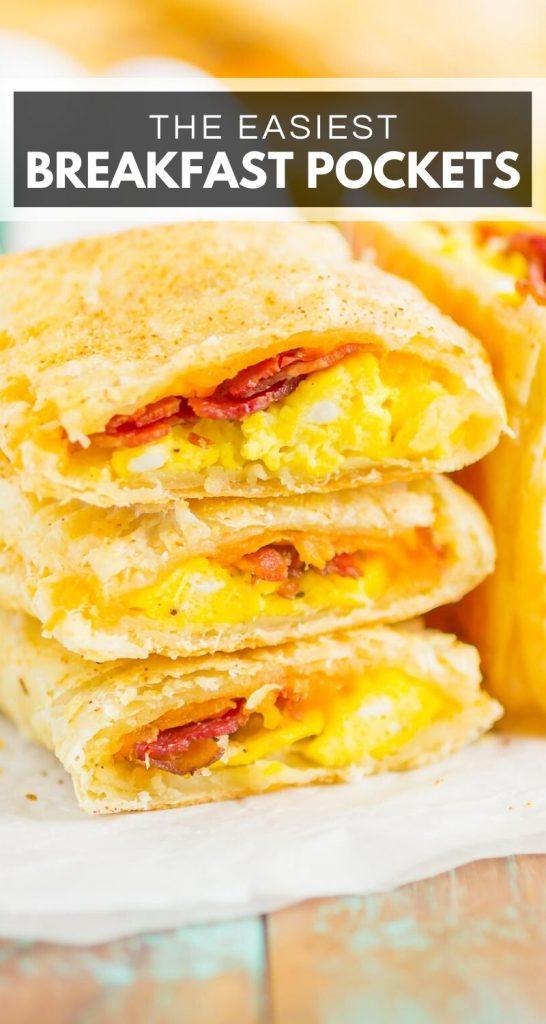 Homemade Breakfast Hot Pocket