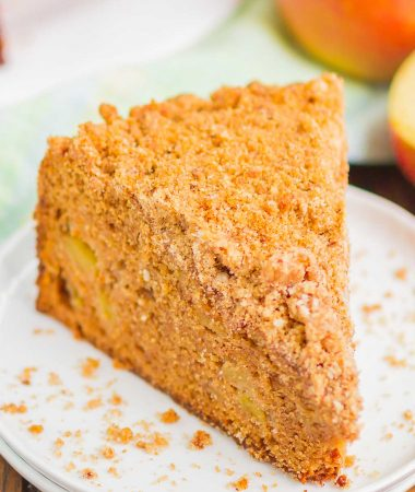 Apple Coffee Cake with Streusel Topping
