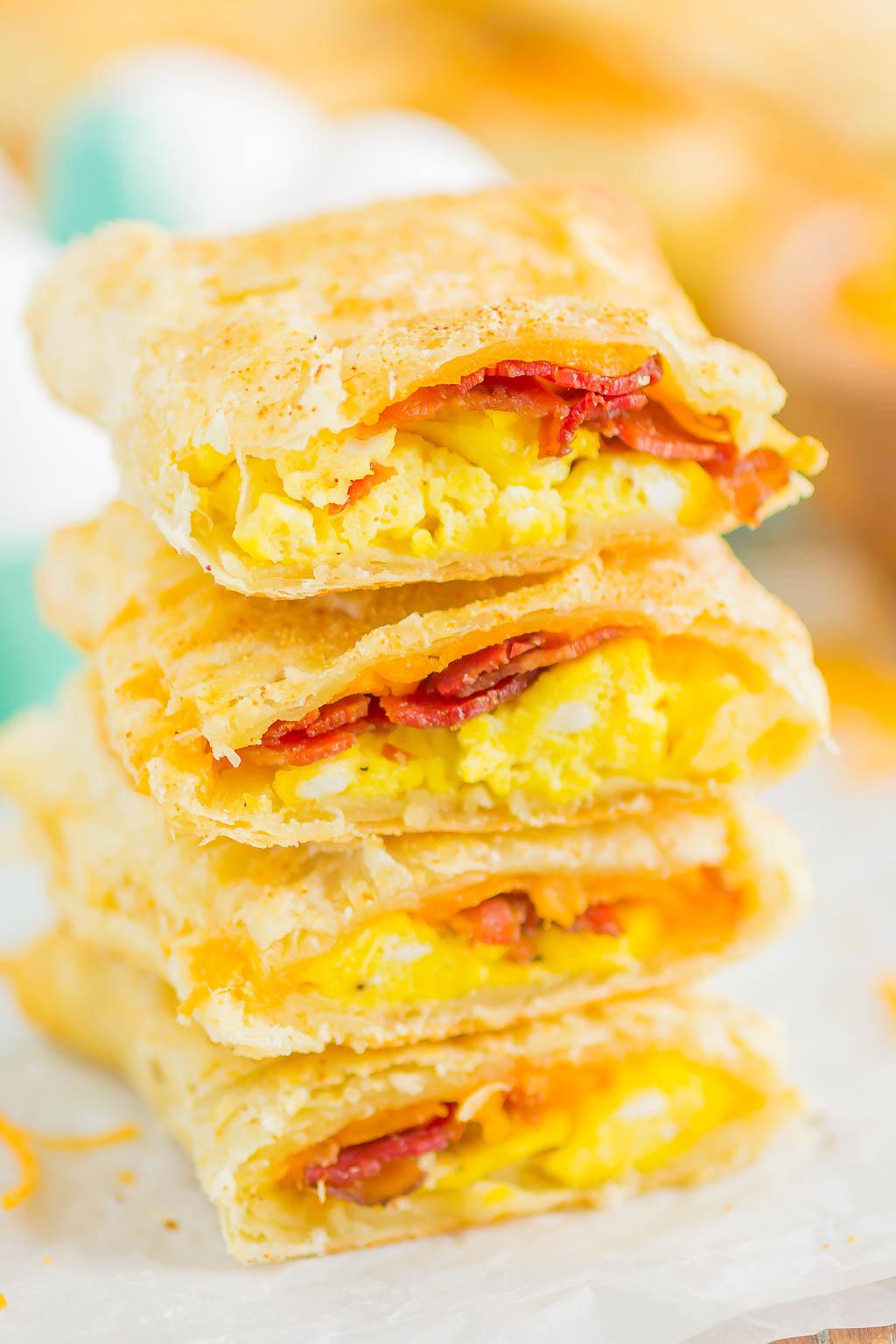 Homemade Breakfast Hot Pockets