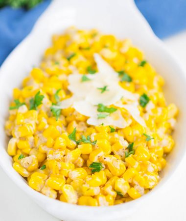 Garlic Parmesan Corn