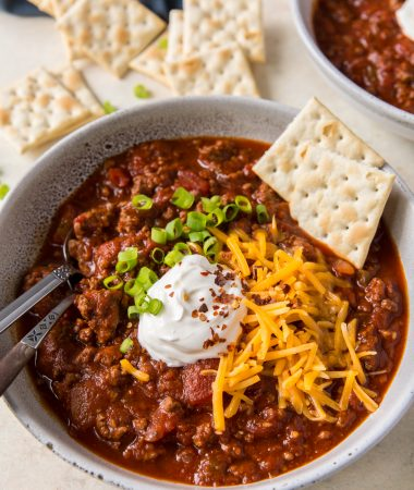 Slow Cooker No Bean Chili