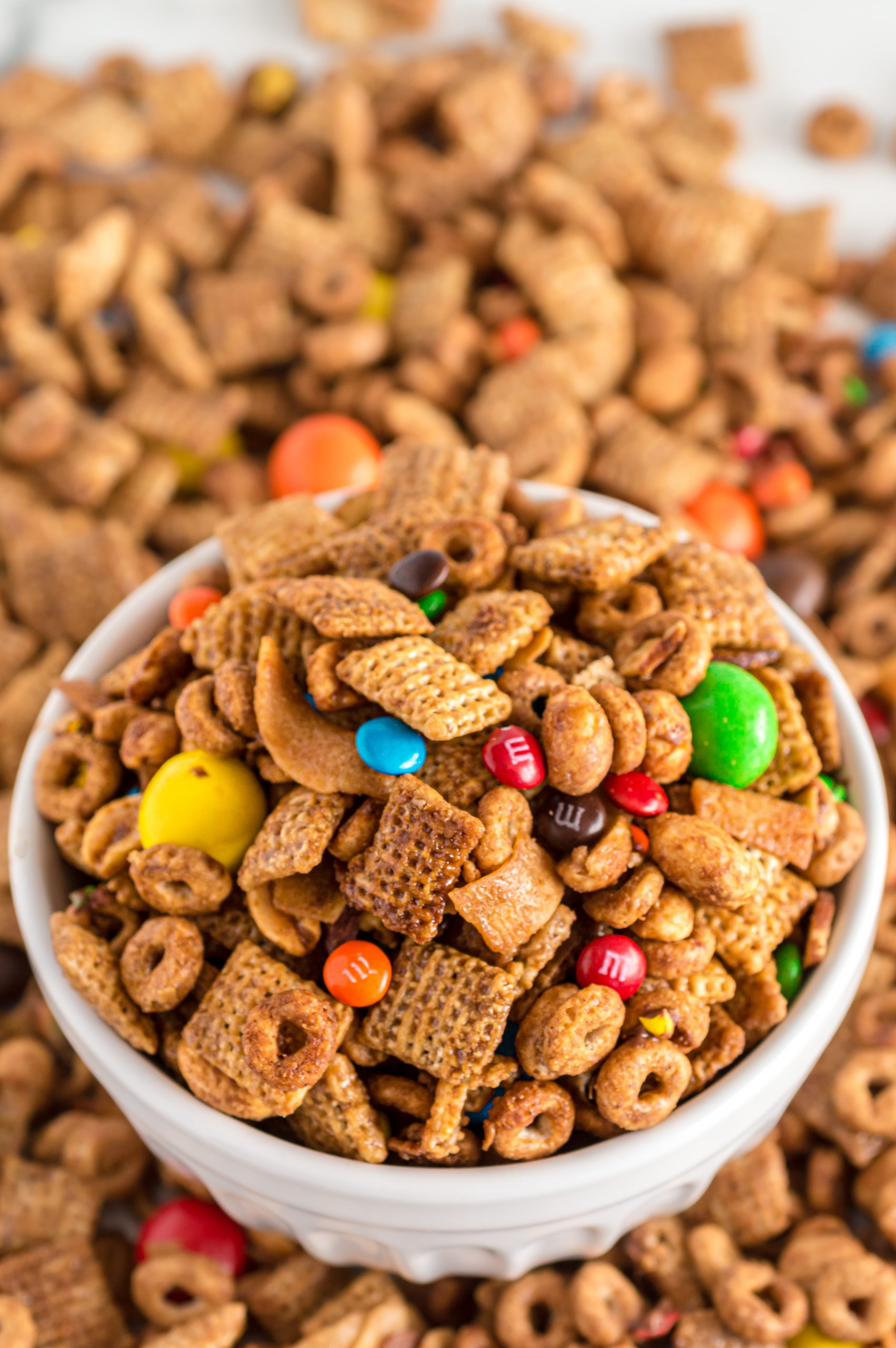 Easy Coconut Caramel Snack Mix