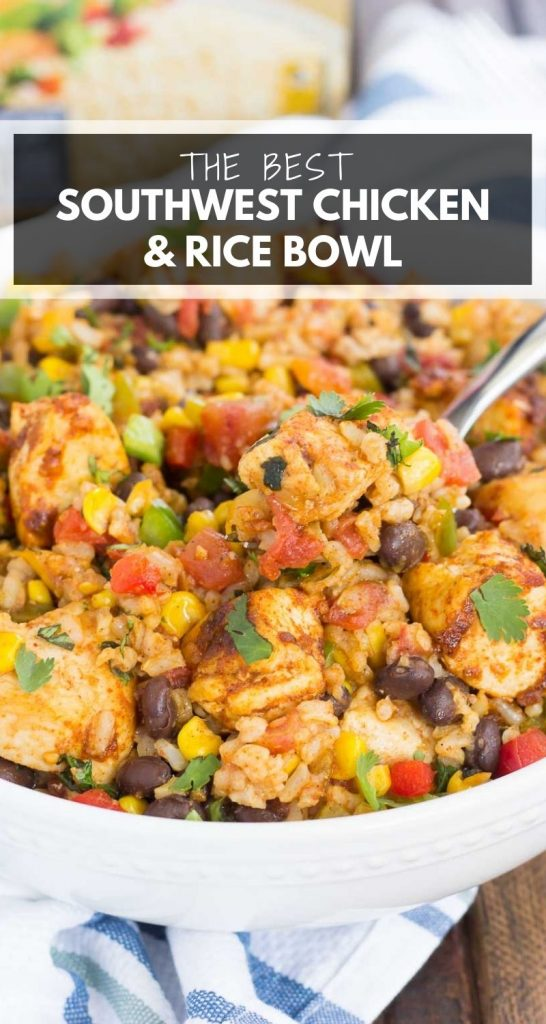 Southwest Chicken Rice Bowl