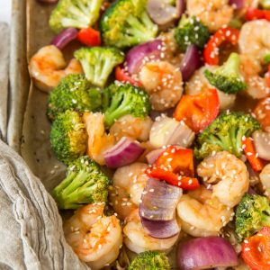 Teriyaki Sheet Pan Stir Fry