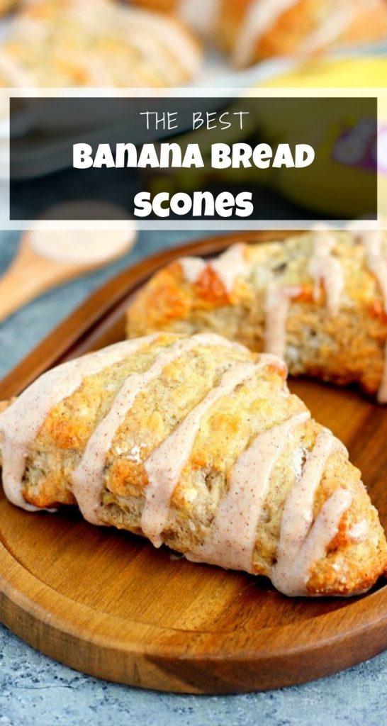 Banana Bread Scones