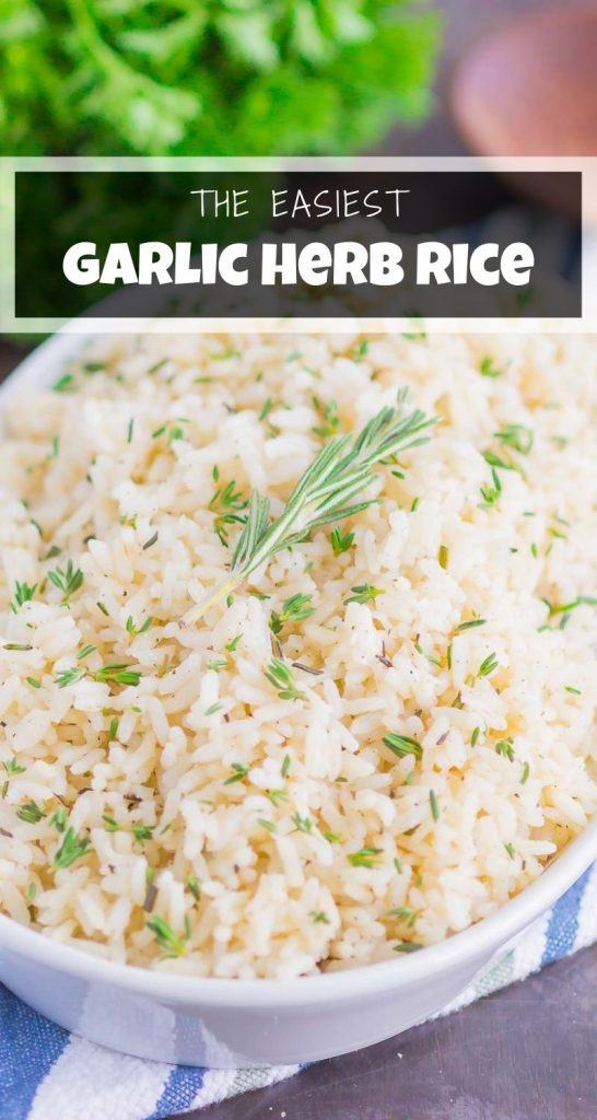 Garlic Herb Rice