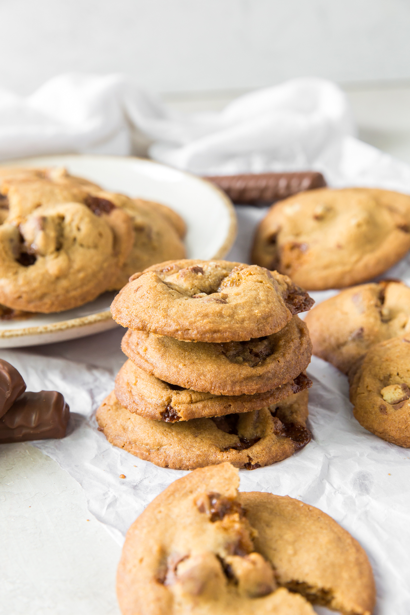 Chewy Twix Cookies