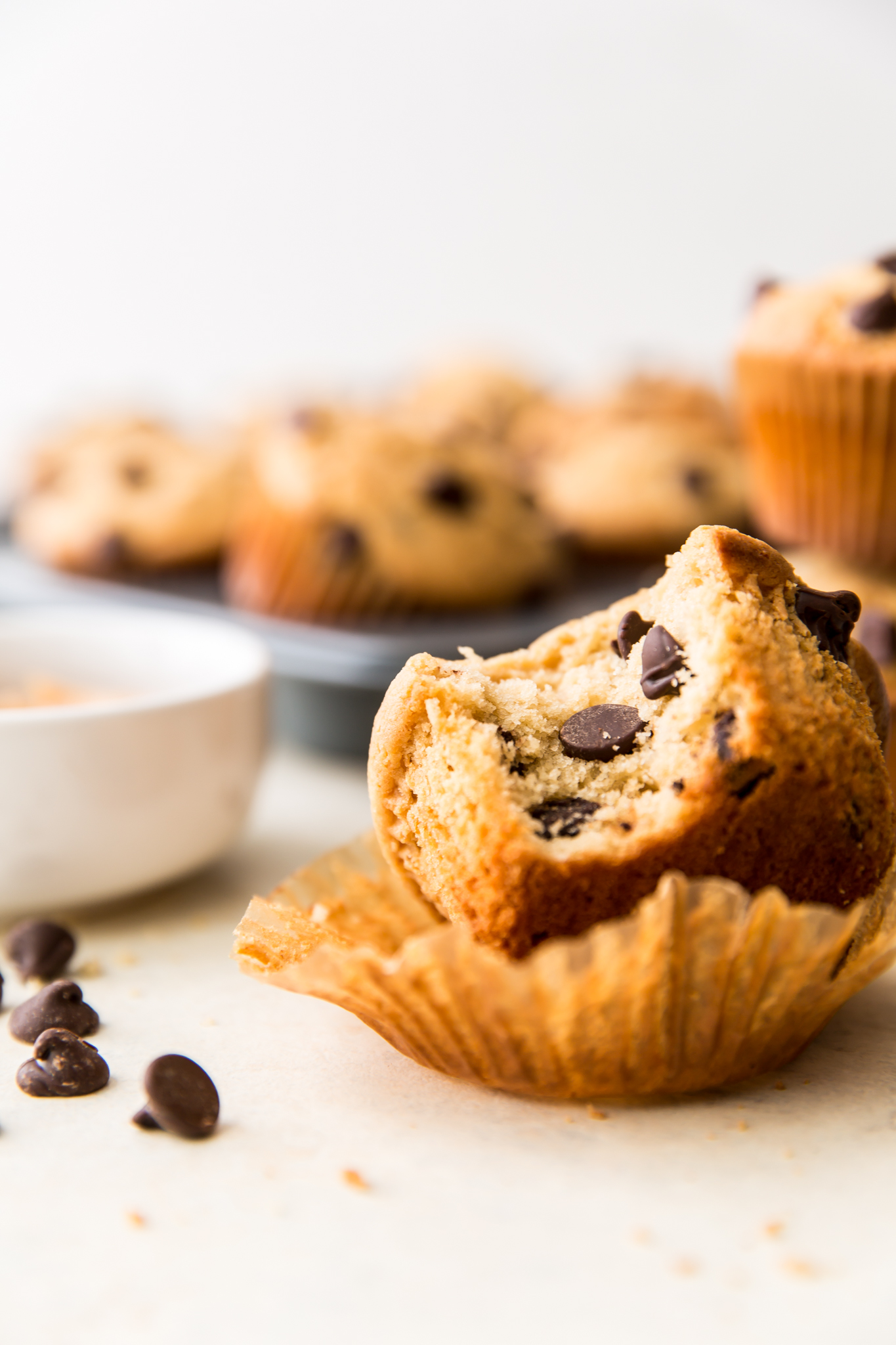 muffins on counter
